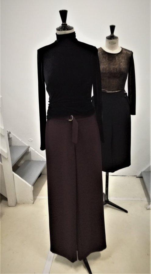 top TOMMY pantalon JUNE  top lurex TIZZI  jupe- culotte TINA